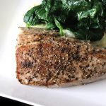 Pan Seared Pepper Tuna Steak Recipe