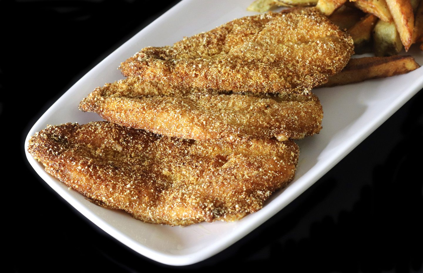 Smoky Fried Whiting Recipe