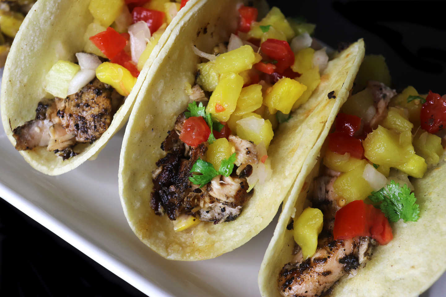 Jerk Salmon Tacos Recipe
