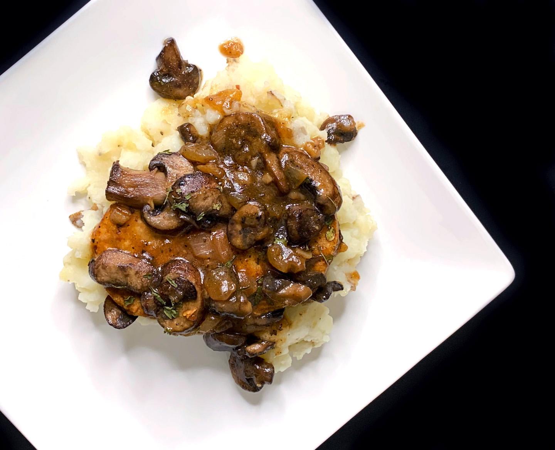 Vegan Chicken Marsala