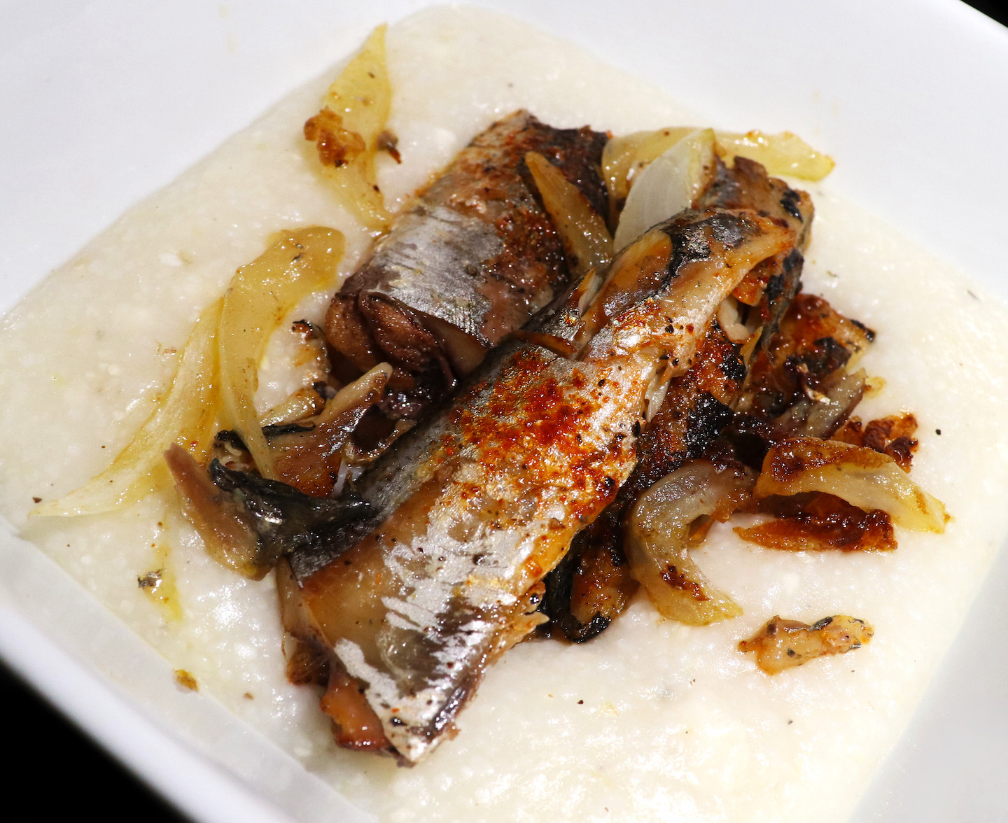 Sardines and Grits Recipe