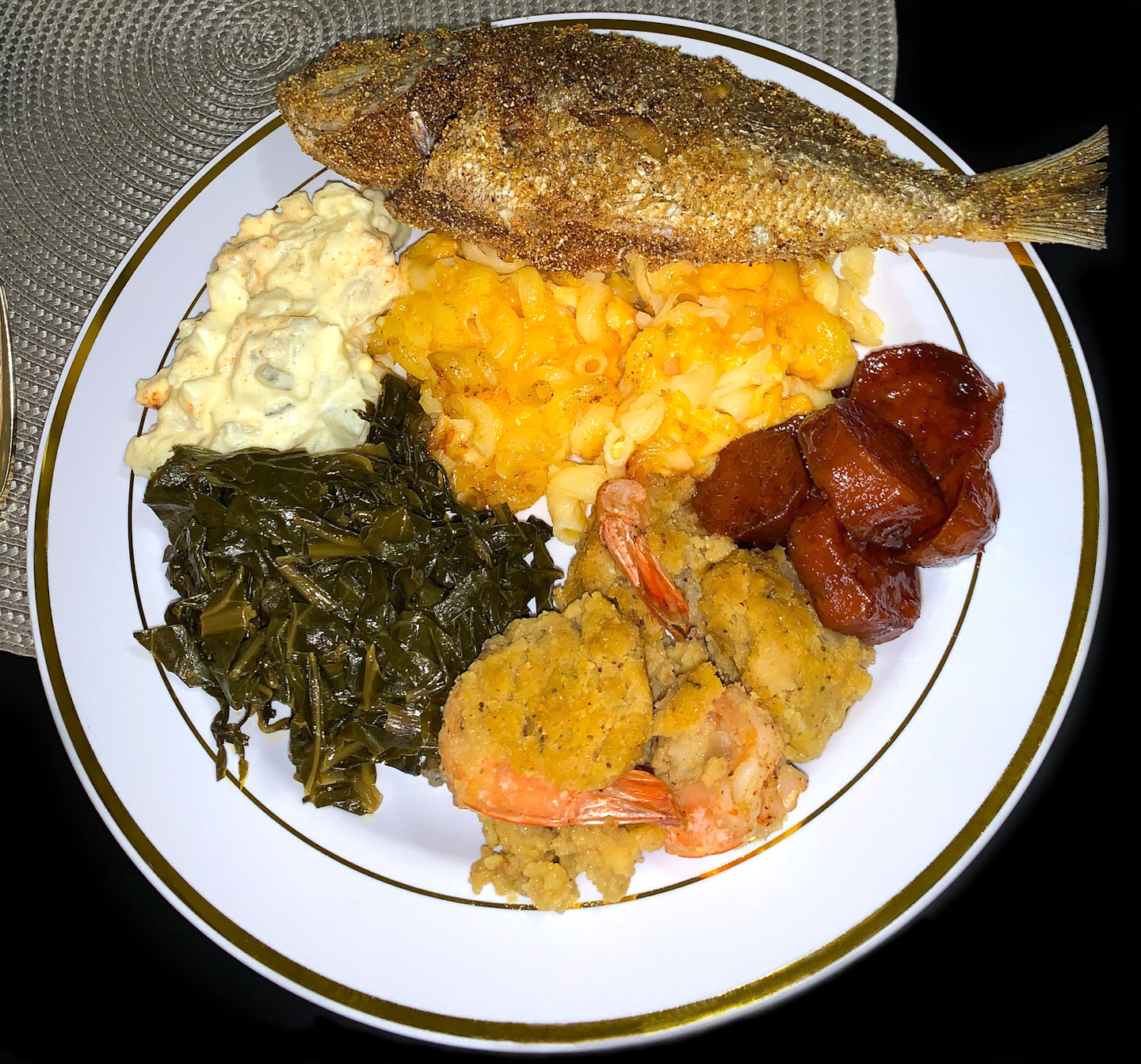 Pescatarian Holiday Dinner Soul Food Fish Fry
