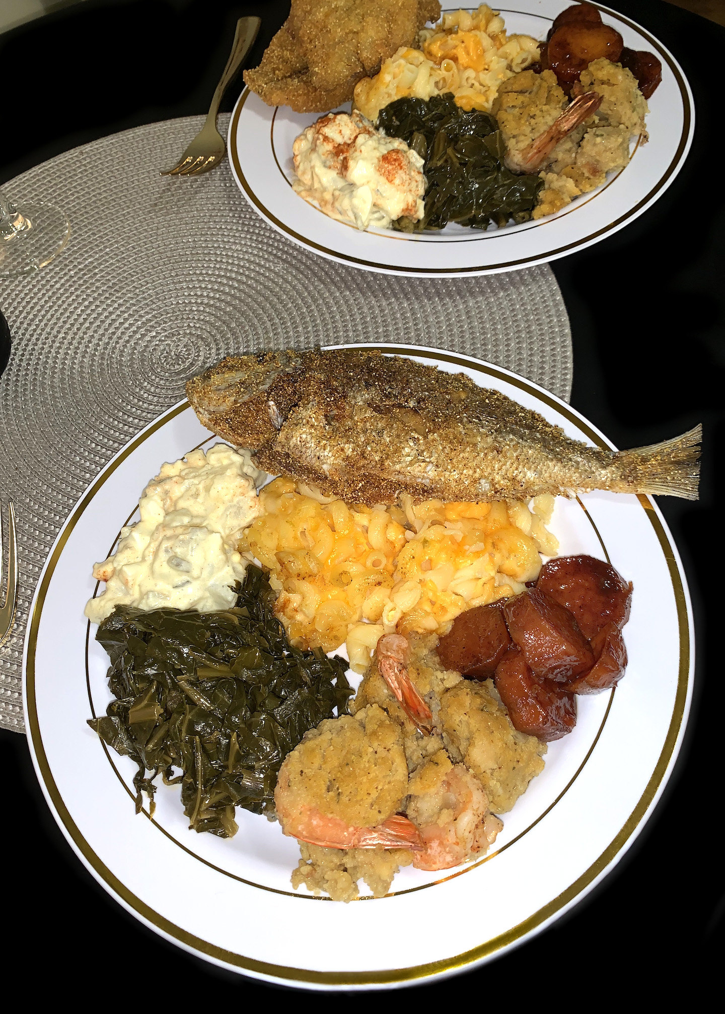 Pescatarian Holiday Dinner {Recipes For EVERYTHING On This Plate}