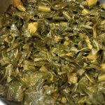 Southern Style Meat Free Collard Greens