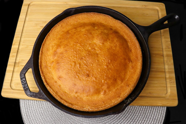 Gluten Free Sweet Skillet Cornbread Recipe
