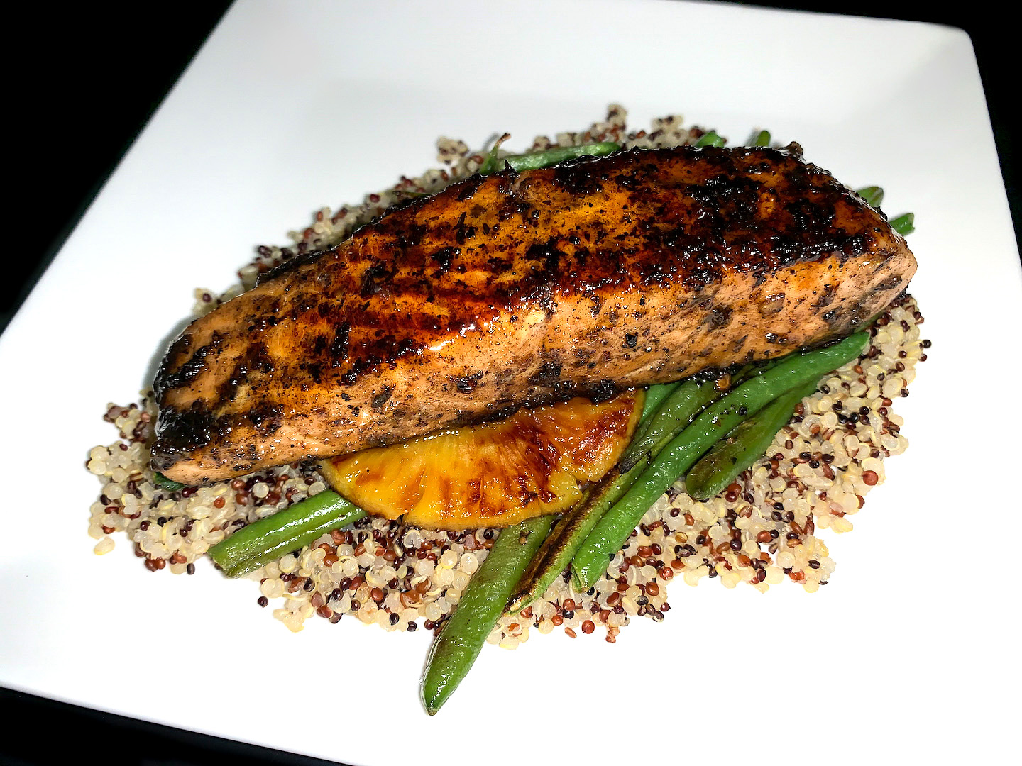 Sweet 'n Spicy Honey Jerk Salmon Recipe