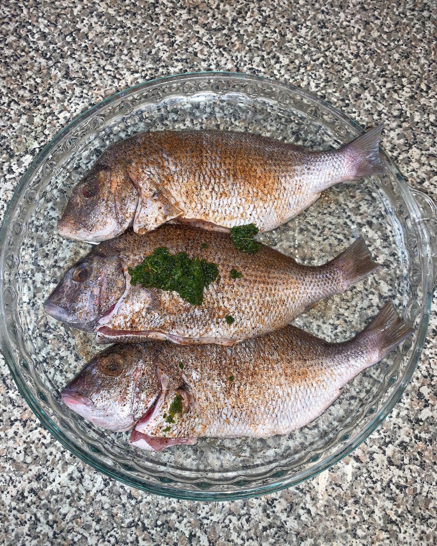 How To Season Porgie Fish